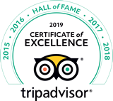 TripAdvisor Certificate of Excellence Award Winner